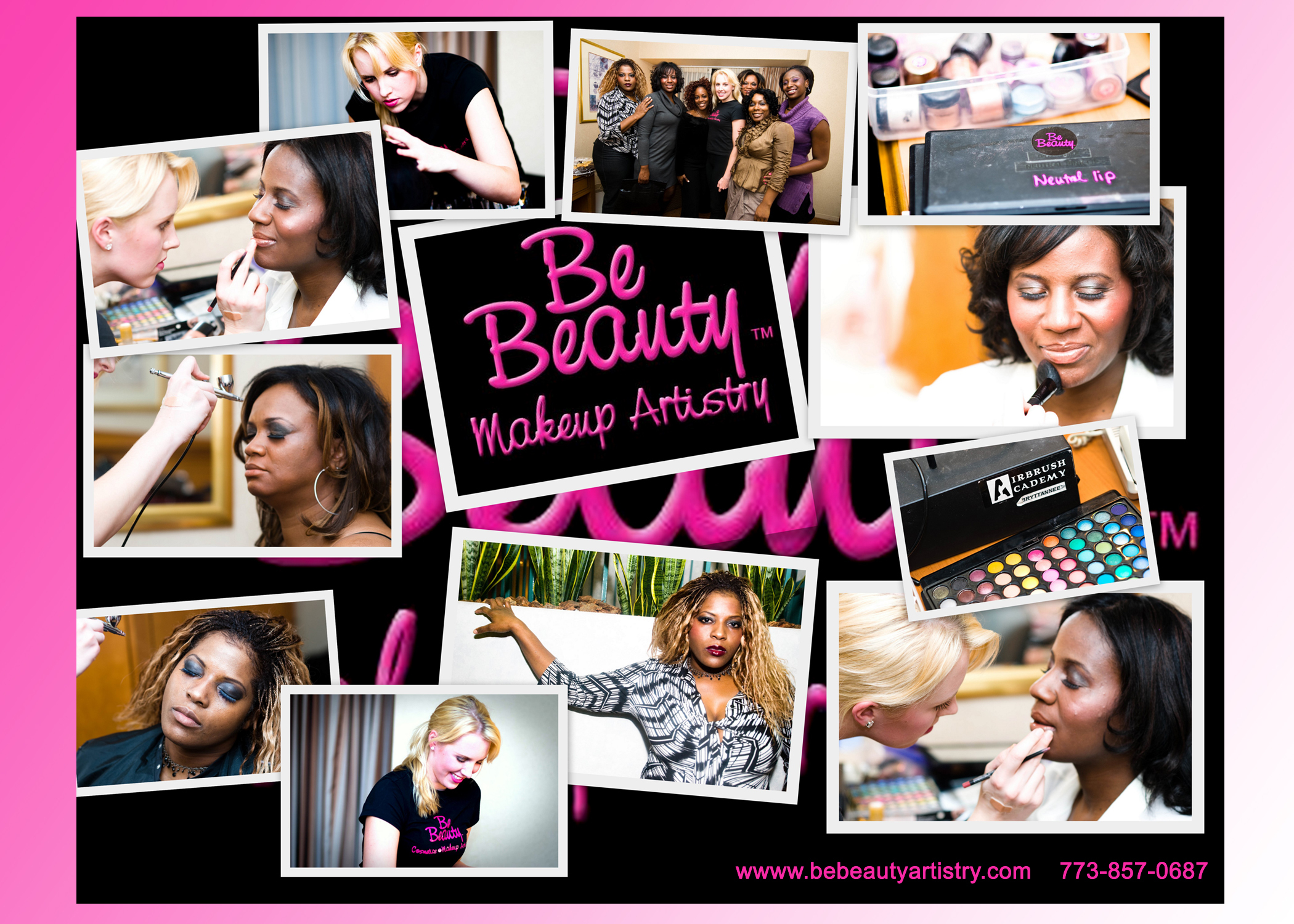 Beauty, black, Makeup, Events, Special, Airbrush, Be beauty makeup artistry