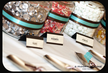 Planning, planner, Modern, Wedding, Proposal, Candy, Buffet, A, Event, Edmonton, A modern proposal event planning