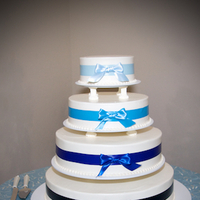 Cakes, blue, cake, Ardolino photography