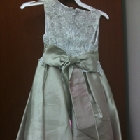 Wedding Dresses, Fashion, green, dress, Flowergirl, Sage