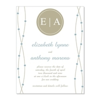 Save-the-Dates, Save the date cards, Pretty paper invitations, Diy save the date templates