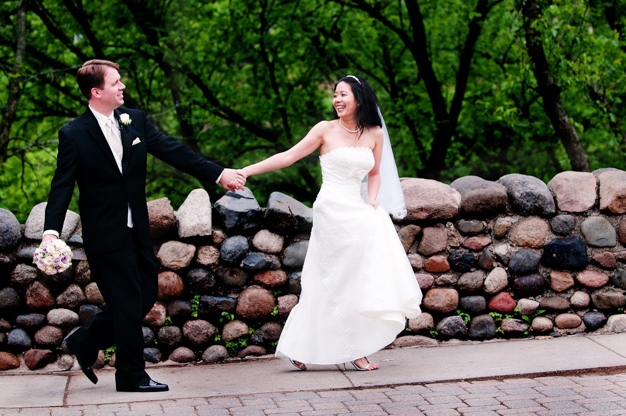 Bride, Groom, Minneapolis, Falls, John sharpe photography, Minnehaha