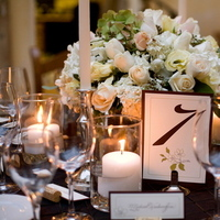 Reception, Flowers & Decor, ivory, brown, Centerpieces, Centerpiece
