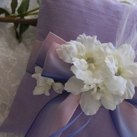 Beauty, purple, Feathers, Wedding, Ring, Fun, Pillow, Bearer, Weddings, Silk, Etsy, Collection, Lilac, Team, Ye bridal, Bloom