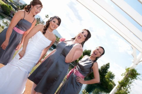 Bridesmaids, Bridesmaids Dresses, Fashion, pink, gray