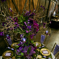 Flowers & Decor, purple, gold, Spring, Flowers, Table, Theme, Events, Design, Plan, Agreen