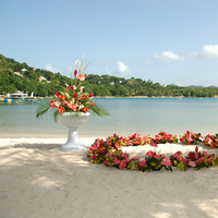 Ceremony, Flowers & Decor, Beach, Outdoor, Beach Wedding Flowers & Decor, Runaway weddings
