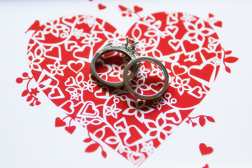 red, Rings, Heart, Kimphil photography