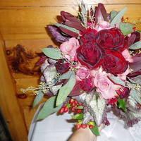 Flowers & Decor, Bride Bouquets, Flowers, Roses, Bouquet, Bridal, hand tied, European