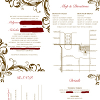 DIY, Stationery, invitation, Invitations, Pocketfold, Inserts