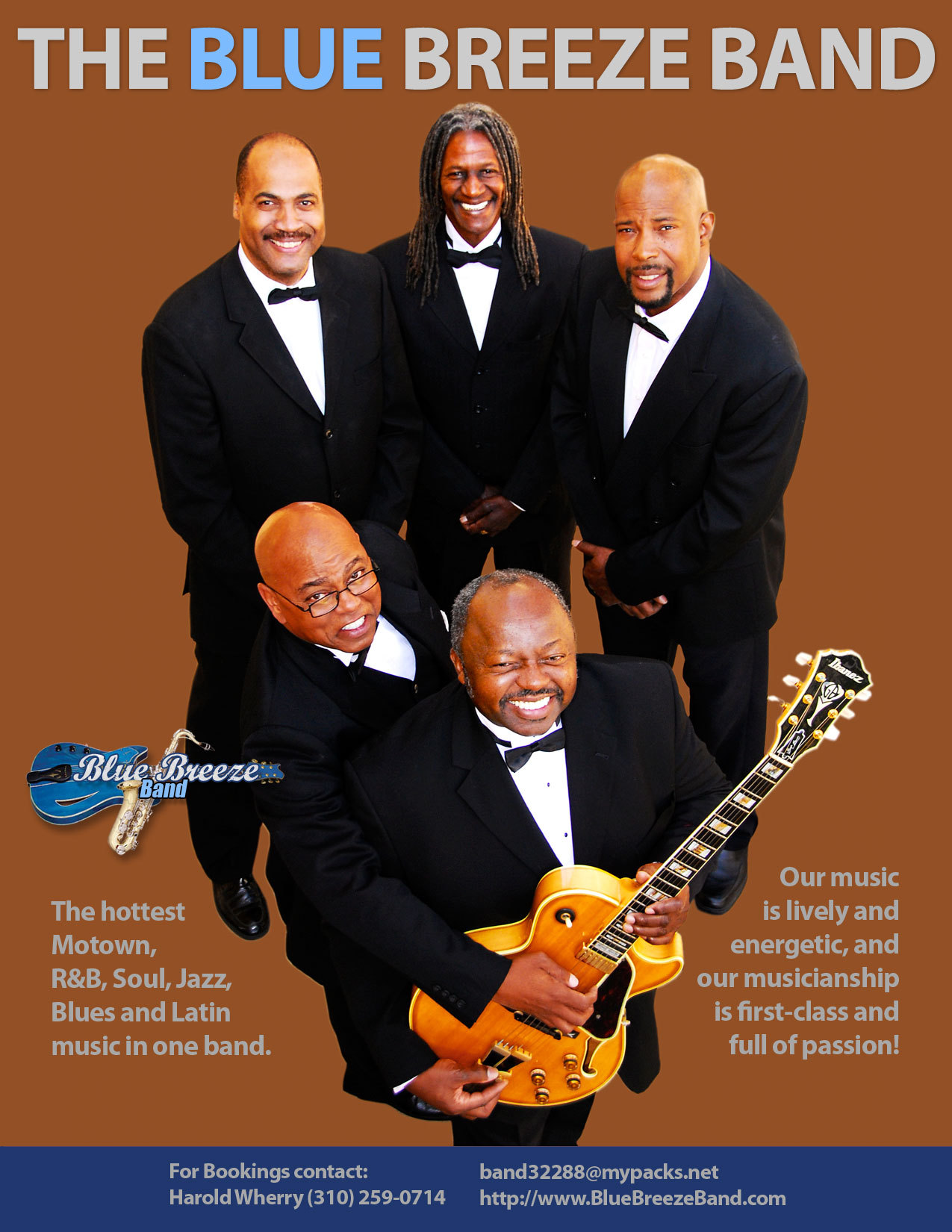 Band, Artist, Motown, Rb, Soul, Blue breeze band motown rb soul jazz blues latin, Rnb