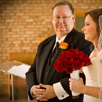 Ceremony, Flowers & Decor, Ceremony Flowers, Bride Bouquets, Bride, Flowers, Wedding, Father, Church, Weddings, Beautiful, In, Indiana, Ashley athey photography, Bloomington