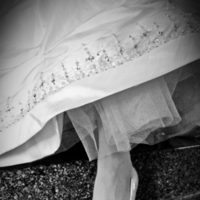 Reception, white, dress, Ceremony, Wedding, black, And, Shoes, Church, Detail, Shoe, Ashley athey photography, Fashion, Flowers & Decor, Wedding Dresses