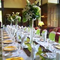 Table, Chair, Runners, Covers, Sashes, Vases, Tablecloths, Watkins event decor