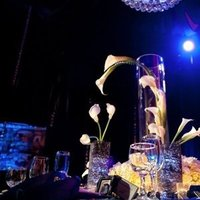Reception, Flowers & Decor, Centerpieces, Lighting, Flowers, Centerpiece, Table, Chandelier, Setting, Luxe life events