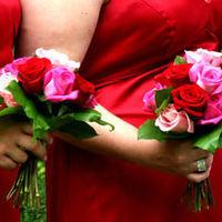 Flowers, Bridesmaids, Bride, Allison joy studios, Flowers & Decor, Bride Bouquets, Bridesmaid Bouquets, Fashion, Bridesmaids Dresses, Flower Wedding Dresses