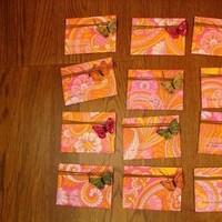 Stationery, orange, Invitations, Wedding, Fuschia