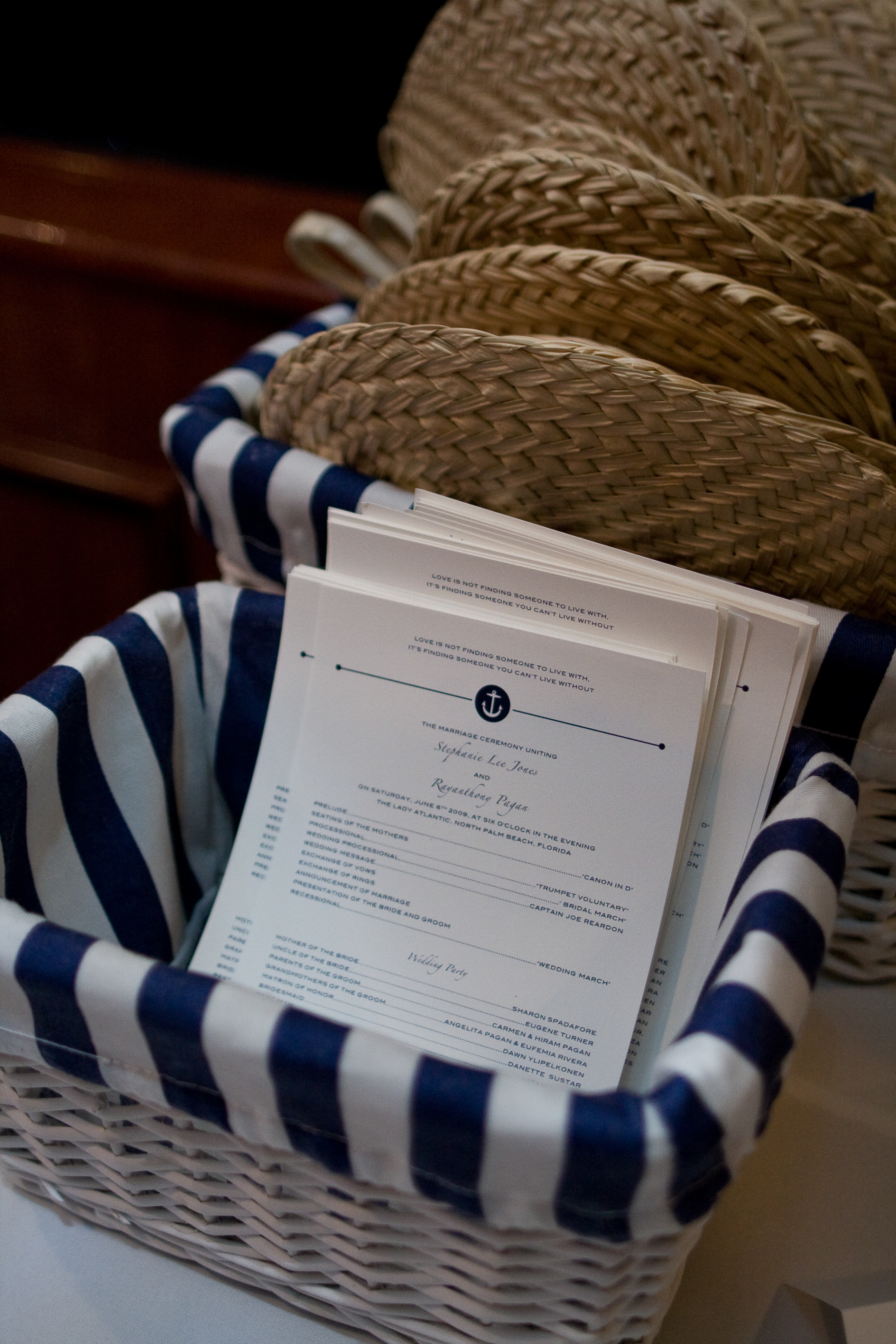 Stationery, Ceremony Programs, Program, Slieberry designs