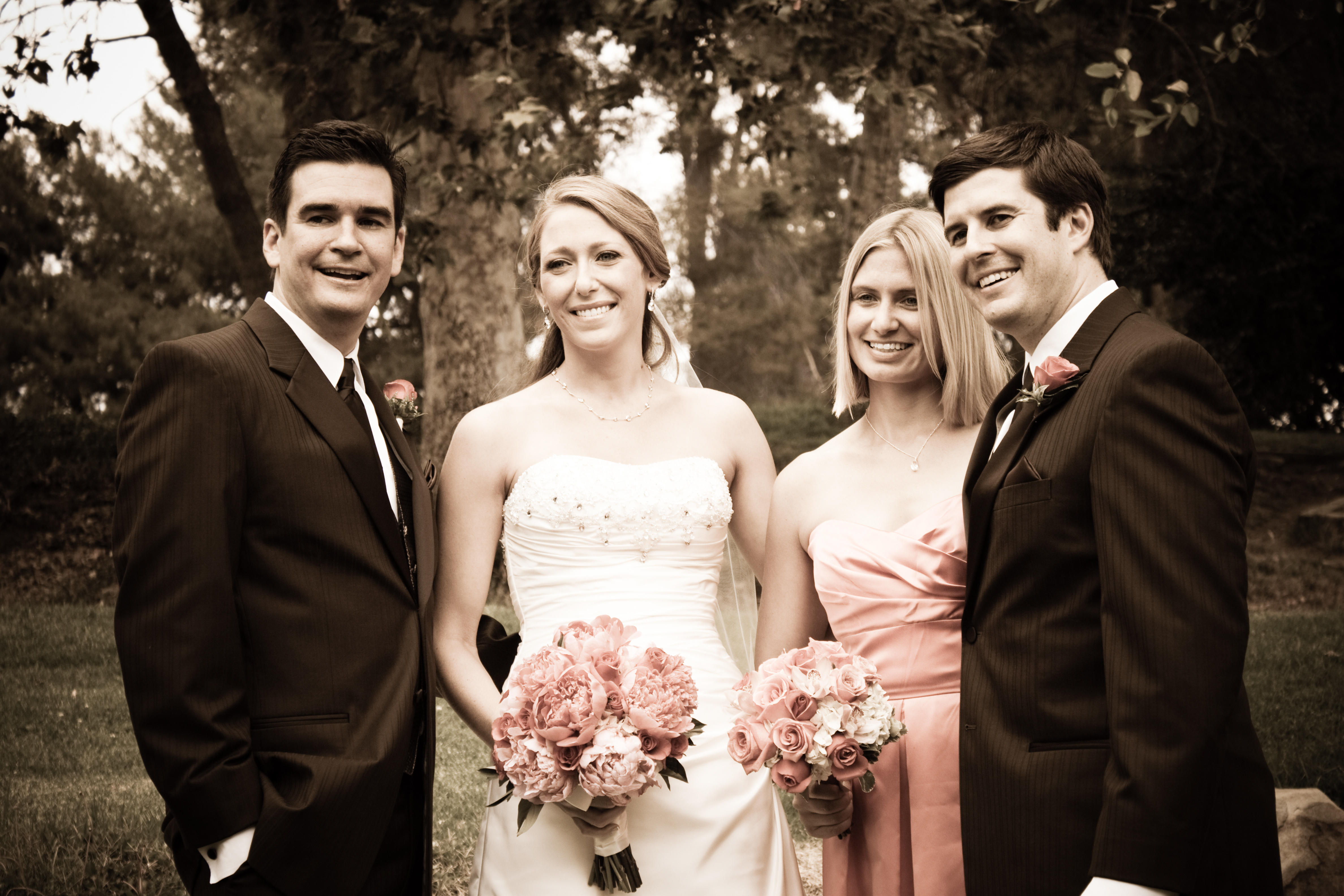 Bride, Groom, Wedding, Of, Couple, Honor, Maid, Man, Best, Allen taylor photography
