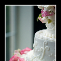 Reception, Flowers & Decor, Cakes, pink, blue, cake, Wedding, Shutterspire photography, Tifanny