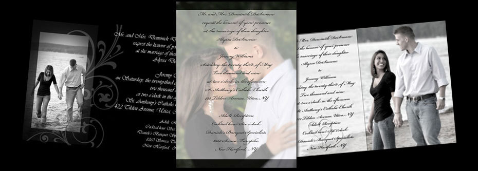 Stationery, Invitations, Wedding, Custom, Photo, Desimone designs