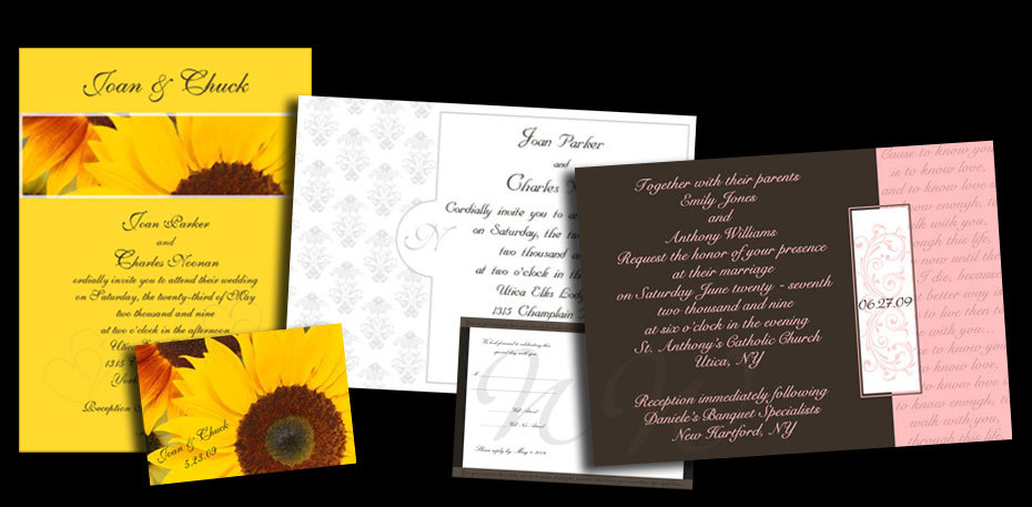 Stationery, Invitations, Cards, Wedding, Response, Desimone designs