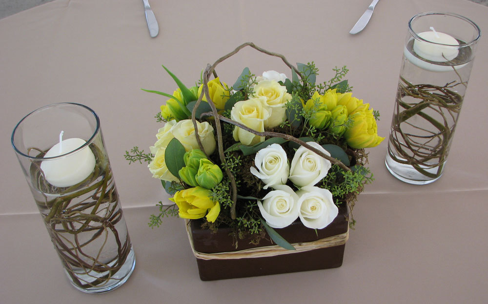 Reception, Flowers & Decor, Decor, Centerpieces, Flowers, Centerpiece, Wedding, Table, San diego wholesale flowers