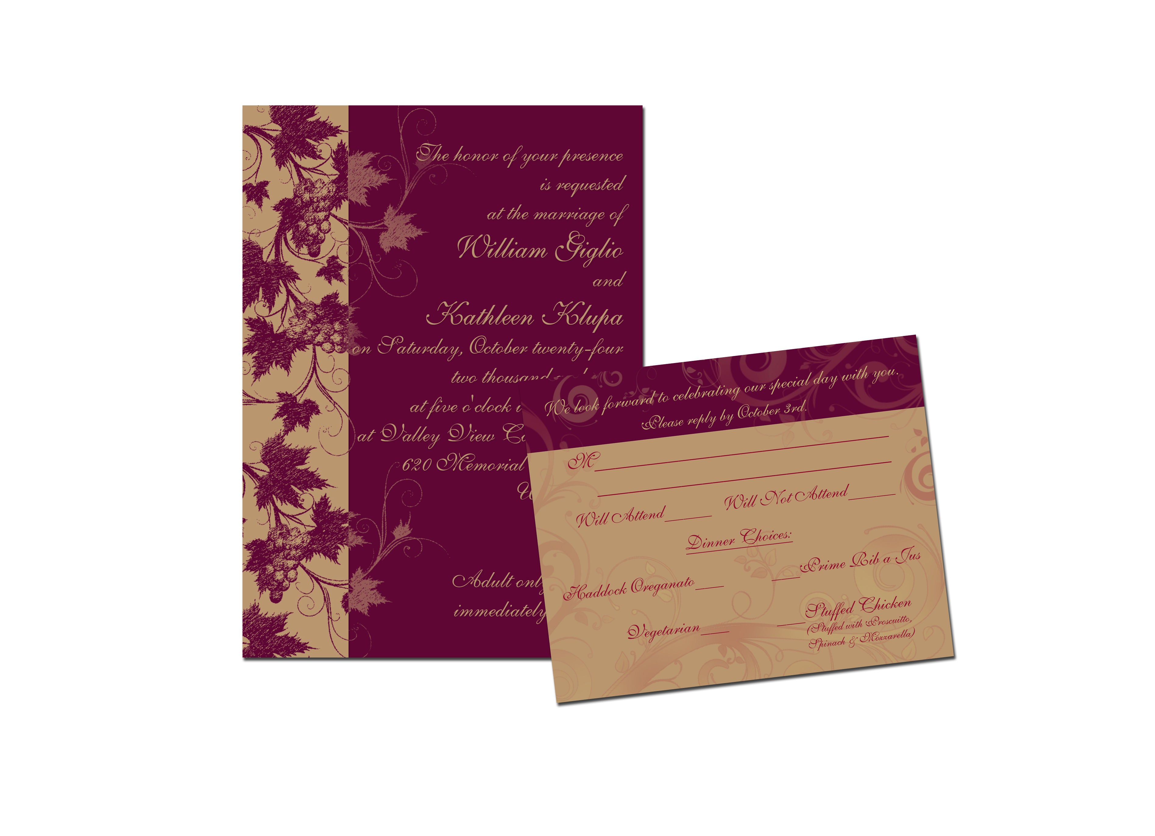 Stationery, invitation, Invitations, Wedding, Custom, Theme, Desimone designs