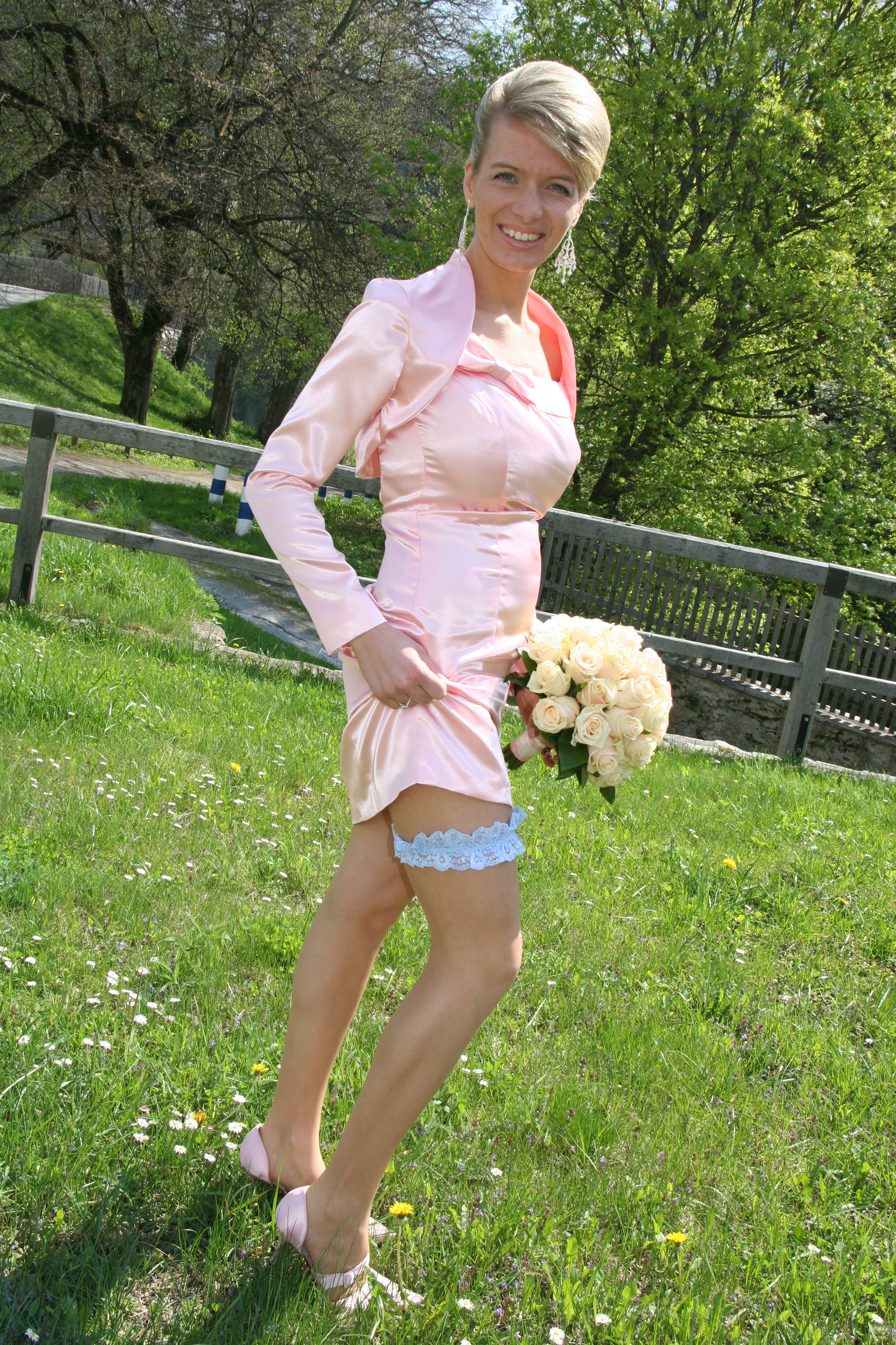 Wedding Dresses, Fashion, pink, dress