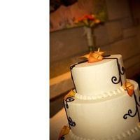 Cakes, orange, black, cake, Calla, Emerald engagements wedding event planning, Flame