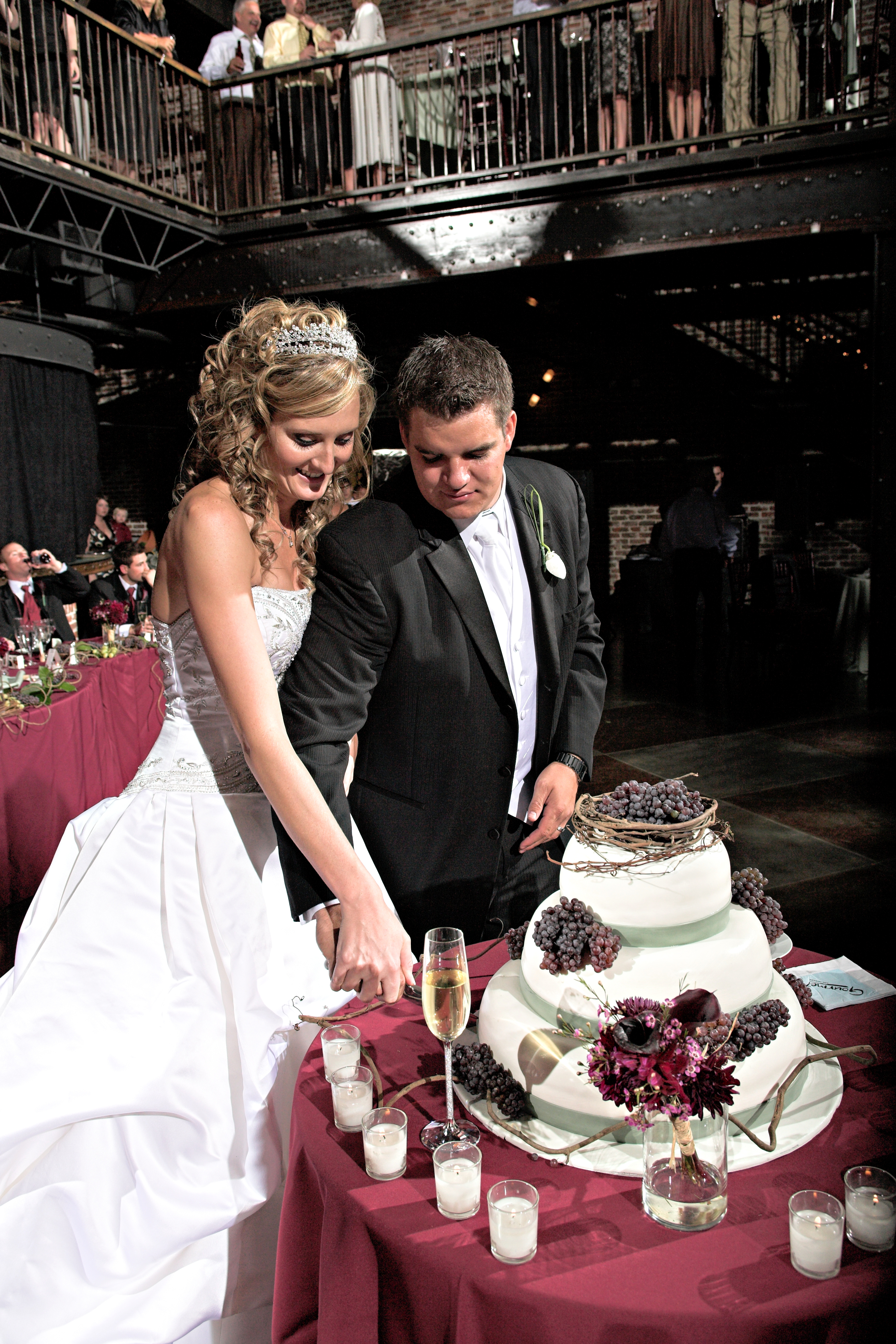 Cakes, cake, Cutting, Theme, Weddings, Tuscan, etc llc