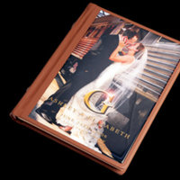 Ceremony, Reception, Flowers & Decor, brown, Bride, Groom, Album, Cameo, Pictobooks