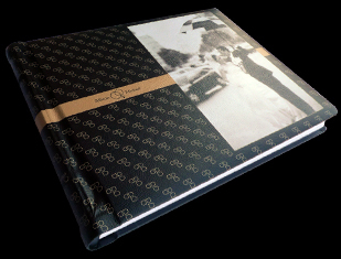 white, black, Bride, Groom, Custom, Album, Leather, Pictobooks, Mystique