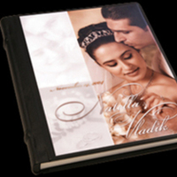 Ceremony, Reception, Flowers & Decor, black, Bride, Groom, Signature, Album, Cameo, Pictobooks