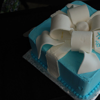 Cakes, blue, black, cake, Shower
