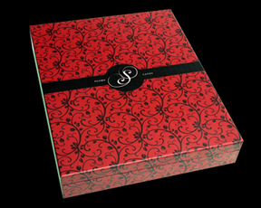 red, black, Custom, Box, Album, Wood, Case, Pictobooks, Mystique