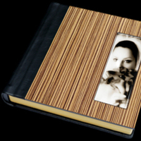 Beauty, brown, Bride, Custom, Hair, Album, Wood, Leather, Cameo, Pictobooks
