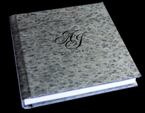 black, silver, Monogram, Custom, Ice, Album, Emboss, Bijou, Pictobooks, Etch