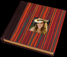orange, red, green, brown, Custom, Album, Wood, Leather, Cowgirl, Cameo, Pictobooks