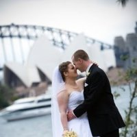 Ceremony, Flowers & Decor, white, Bride, Groom, Wedding, House, Opera, Sydney, Ididjeridoo