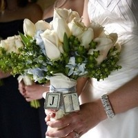 Ceremony, Inspiration, Flowers & Decor, white, silver, Ceremony Flowers, Bride Bouquets, Flowers, Bouquet