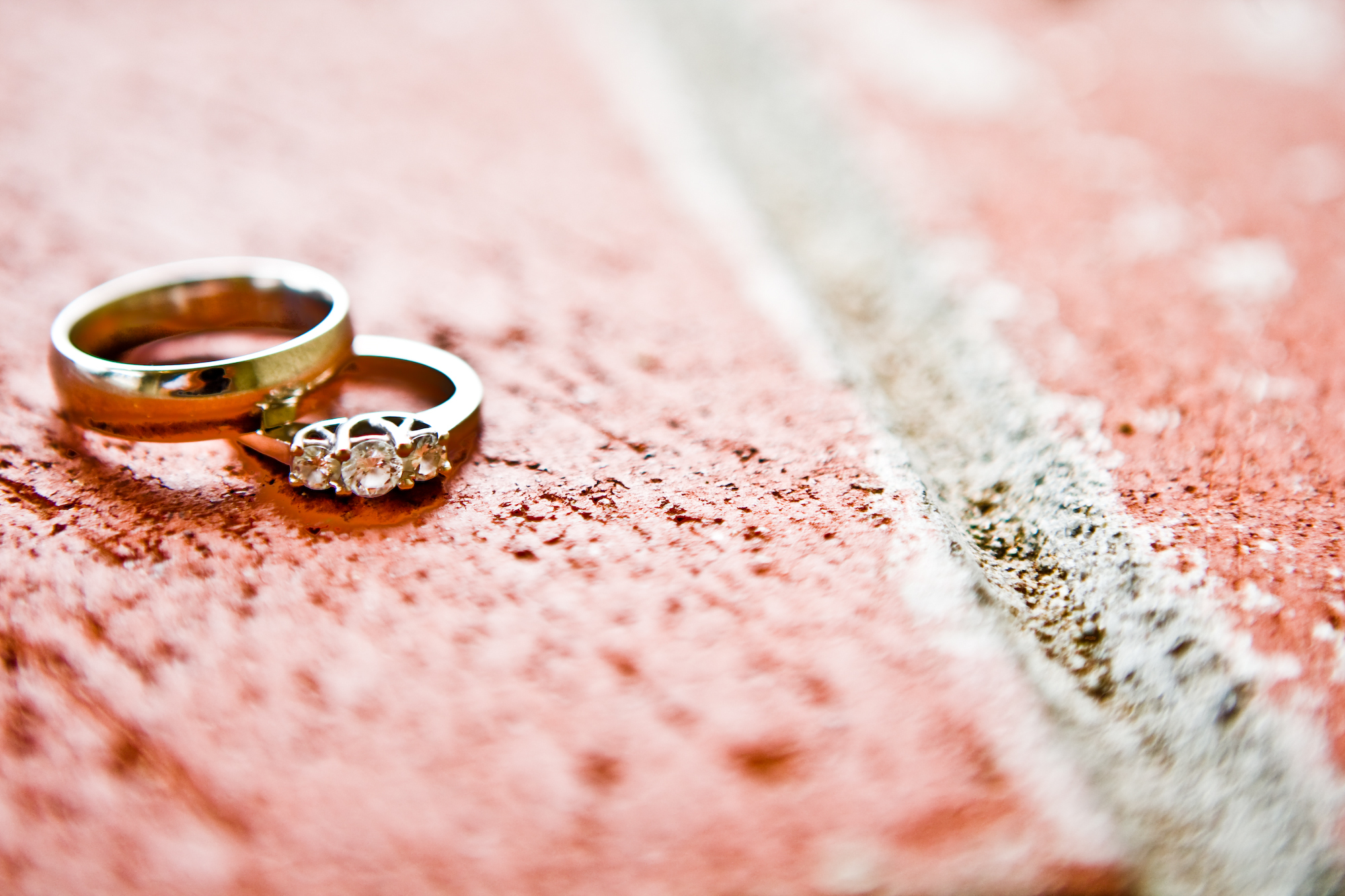 red, Wedding, Ring, Donya photography
