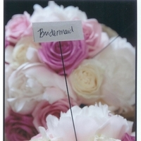 Flowers & Decor, Bridesmaids, Bridesmaids Dresses, Fashion, white, pink, Bridesmaid Bouquets, Flowers, Bridesmaid, Bouquets, Shannon schultz events, Flower Wedding Dresses