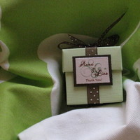Reception, Flowers & Decor, Favors & Gifts, Stationery, green, brown, Favors, Invitations, Party, Monograms, La design boutique