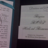 Stationery, black, Invitations, Teal, Peacock