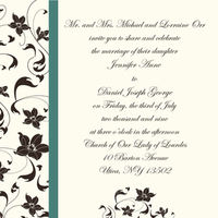 Inspiration, Stationery, white, blue, green, brown, gold, invitation, Invitations, Wedding, Custom, And, Teal, Board, Cream, Them, Weding