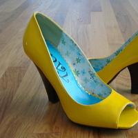 Bridesmaids, Bridesmaids Dresses, Shoes, Fashion, yellow