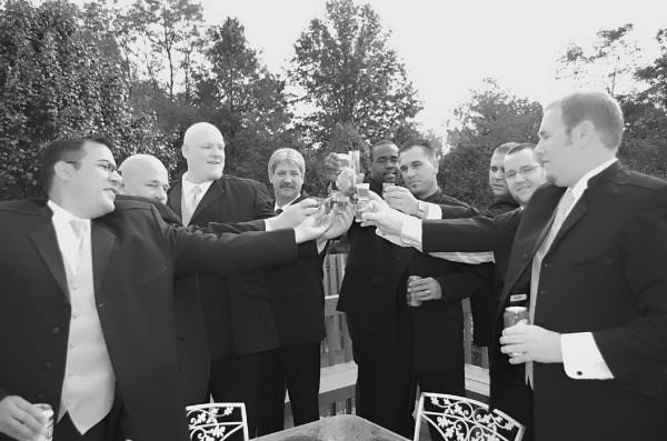 white, black, Groomsmen, Pictures by chell