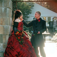 Wedding Dresses, Fashion, red, dress, Wedding, Gothic, S graham photography