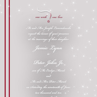 Inspiration, Stationery, white, red, silver, invitation, Invitations, Wedding, Custom, Board, Stars, Plain, Desimone designs
